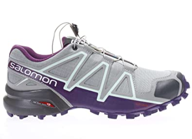 Salomon Speedcross 4W Trail Running Damen, Grau grau
