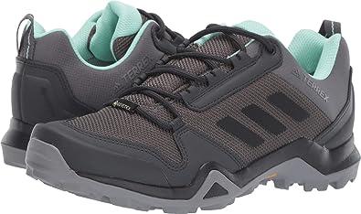 14df323875d57 adidas outdoor Women's Terrex AX3 GTX¿ Grey Five/Black/Clear Mint 5.5 B