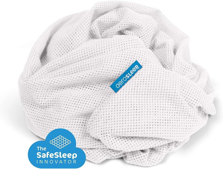 Lavable en machine /à 60/°C Assure une perm/éambilit/é /à lair maximale Blanc 80 x 40cm Drap housse AEROSLEEP