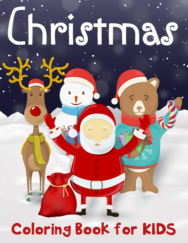 Christmas Coloring Book For Kids 50 Merry Christmas