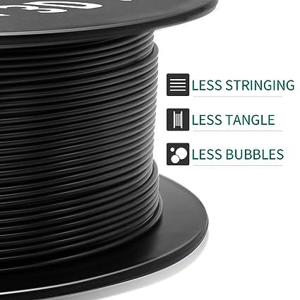 Diameter Tolerance +//- 0.03 mm Spool Fit Most FDM 3D Printer Upgrade Stronger Toughness Printing Consumables Geeetech PETG Filament 1.75mm Blue 1 KG 2.2 LBS