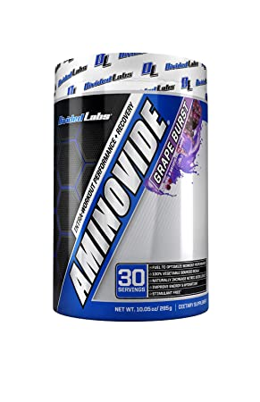 Divided Labs Aminovide BCAA Powder – Better Performance, Hydration and Nitric Oxide Support – 30 Servings Grape Burst