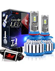 WinPower 9005 HB3 LED Headlight Bulbs Conversion Kits Cree Chip 7200LM 6000K White -2 Year Warranty