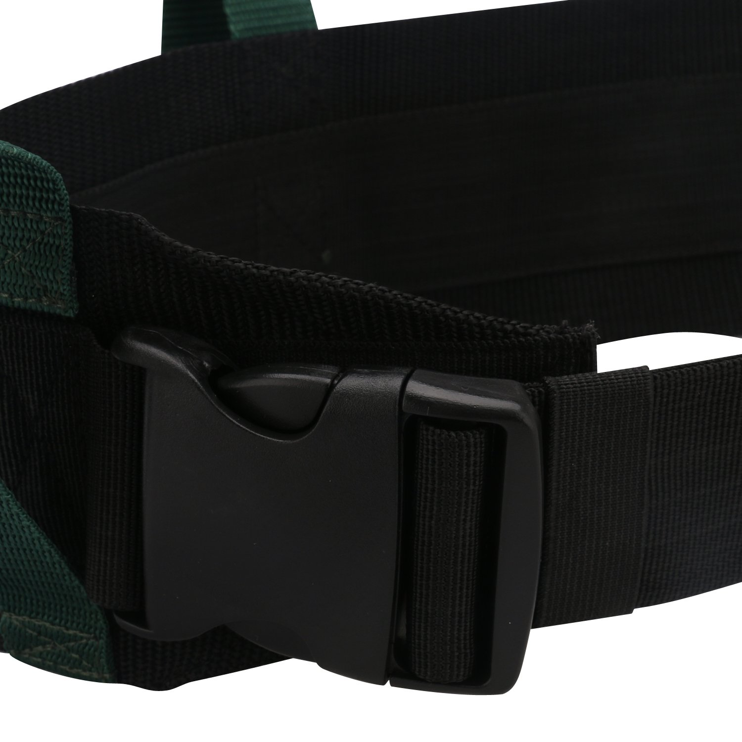 GUOER Transfer Walking Gait Belt with 4 Vertical Handles 3 Transverse Handles Gait Belt One Size Multi-Color Color 011