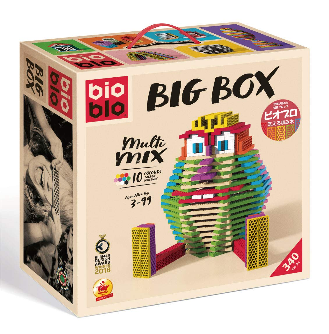 【楽天カード分割】 ビオブロ ビッグボックス(洗える木製つみ木)/Bioblo Big Big B07HC1MZHV box ビオブロ 340ピース B07HC1MZHV, 丸和商会:f7c3ebf2 --- impavidostudio.com