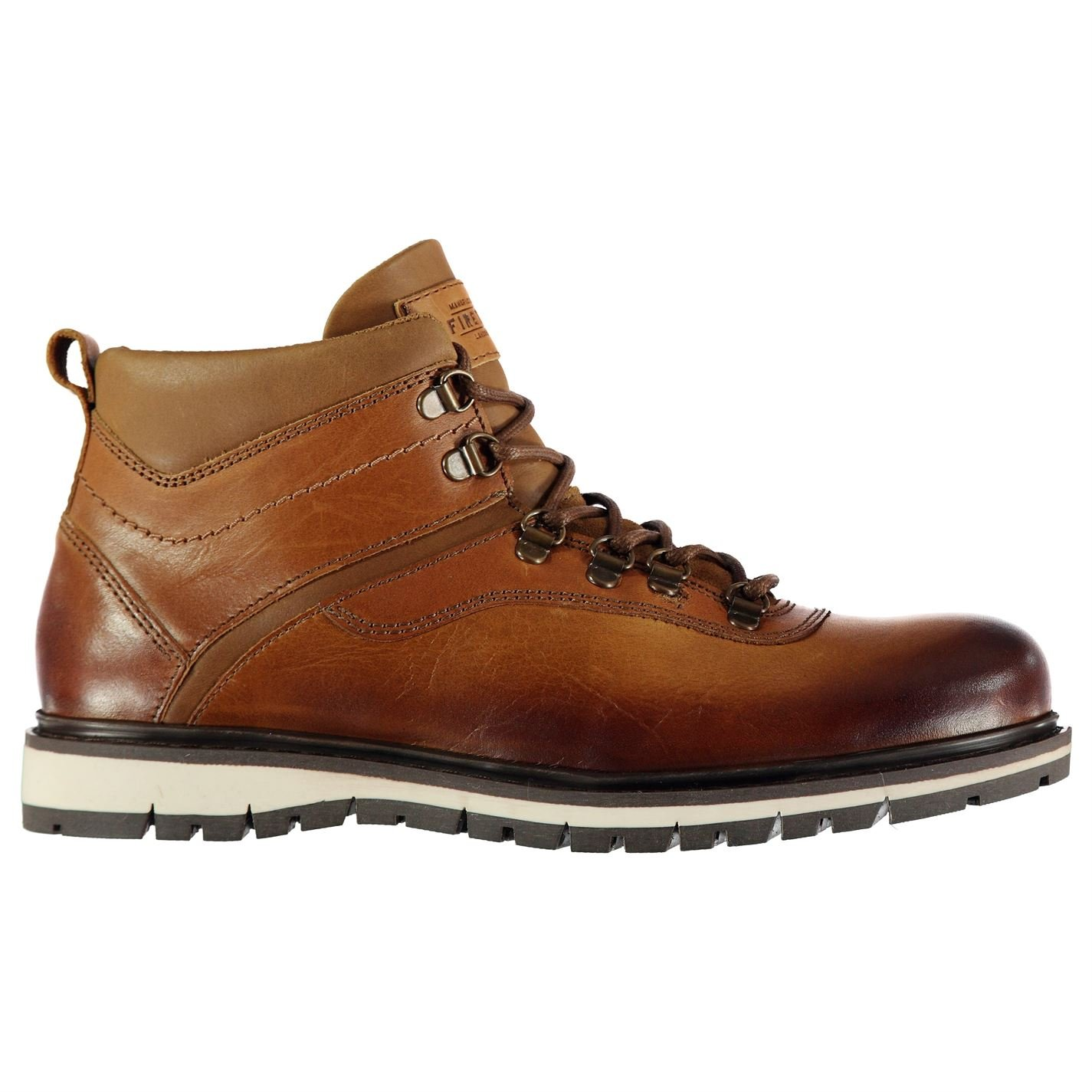 Excellent Condition Comfortable And Easy To Wear Size 1 Brown Supply Kids Firetrap Boots