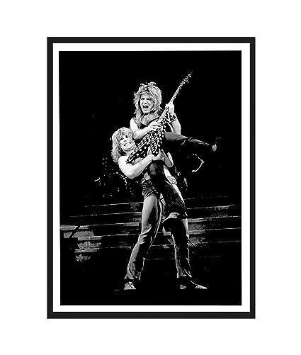 Art Print POSTER Canvas randy rhoads ozzy osbourne heavy metal randy rhoads