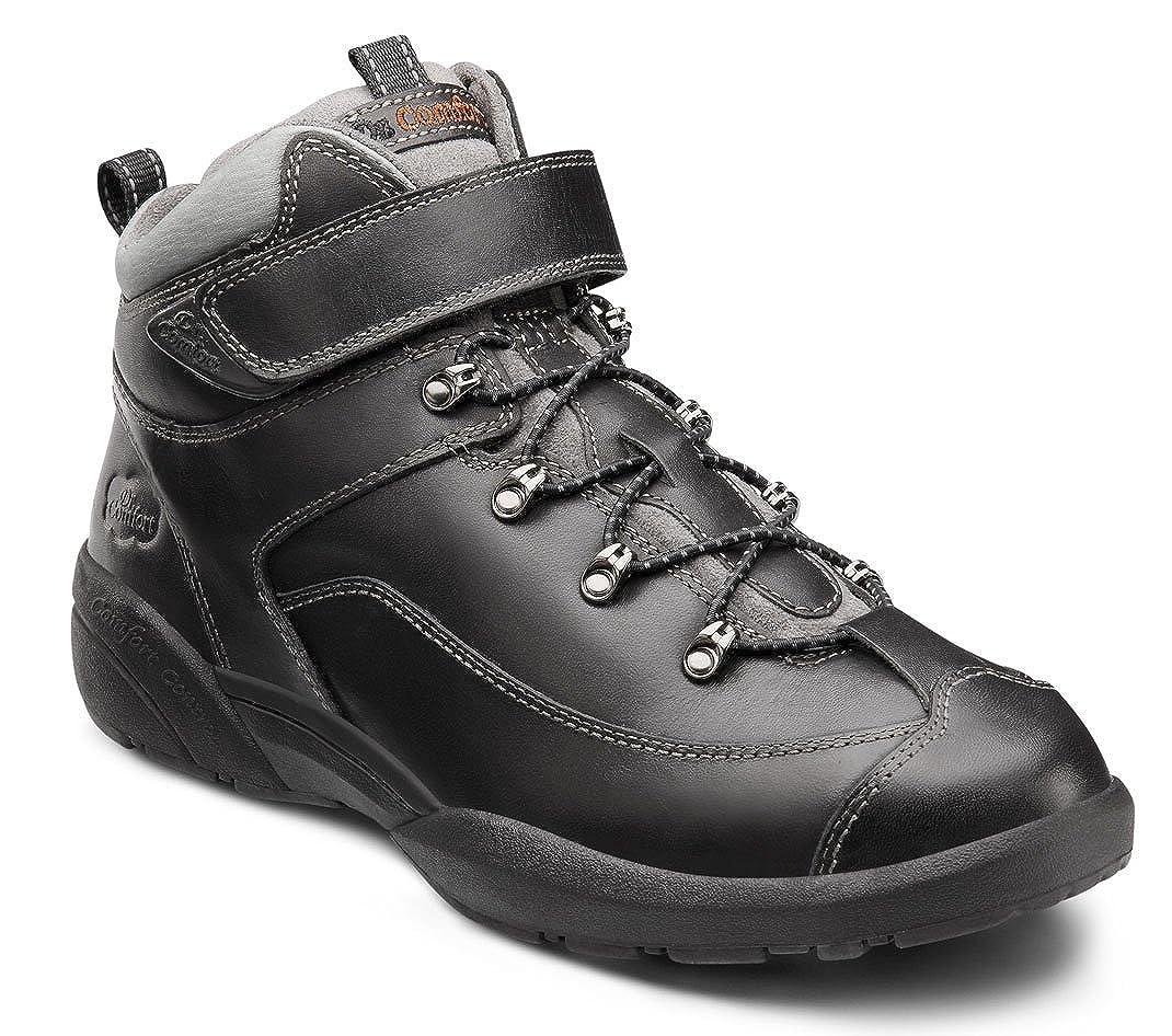 Comfort Mens Ranger Black Diabetic Hiking Boots Dr