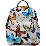 Mini Backpack, Loomiloo Small Backpack for Women Waterproof Shoulder Bag for Young Girls Kids Backpack