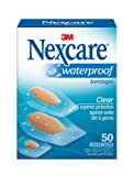 Amazon Price History for:Nexcare Waterproof Clear Bandages Assorted Sizes, 200 Bandages