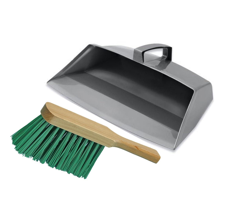Addis-Brushmann Enclosed Dustpan and Brush Set (Soft Brush)