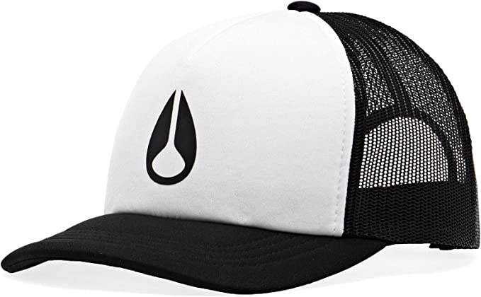 NIXON Byron Foam - Gorra Color Blanco y Negro. Talla única: Amazon ...