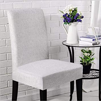 Amazon.com: TANGOGO 6 Pieces Elastic Chair Cover Set Printed ...