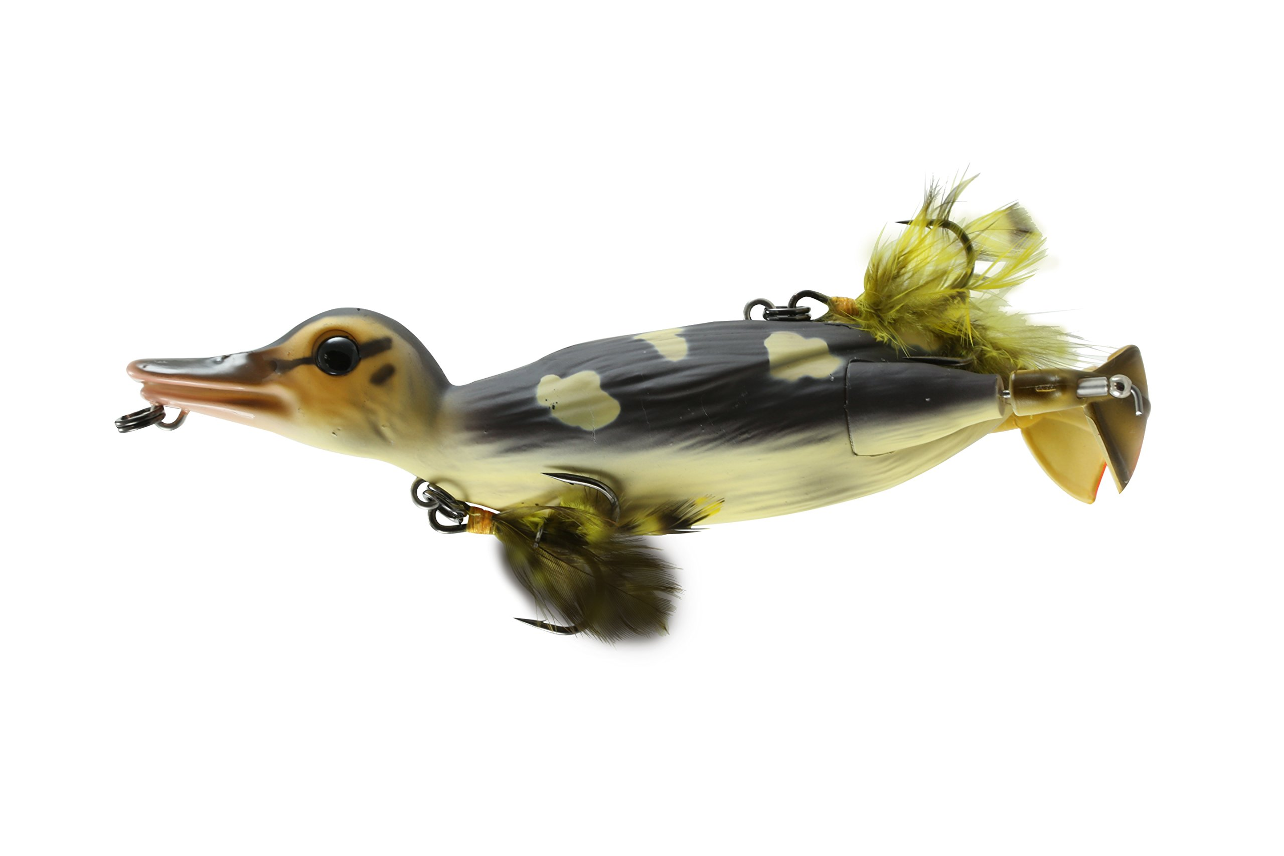 Savage Gear D-110-WD 3D Topwater Duck Wood Duckling, 4 1/4''