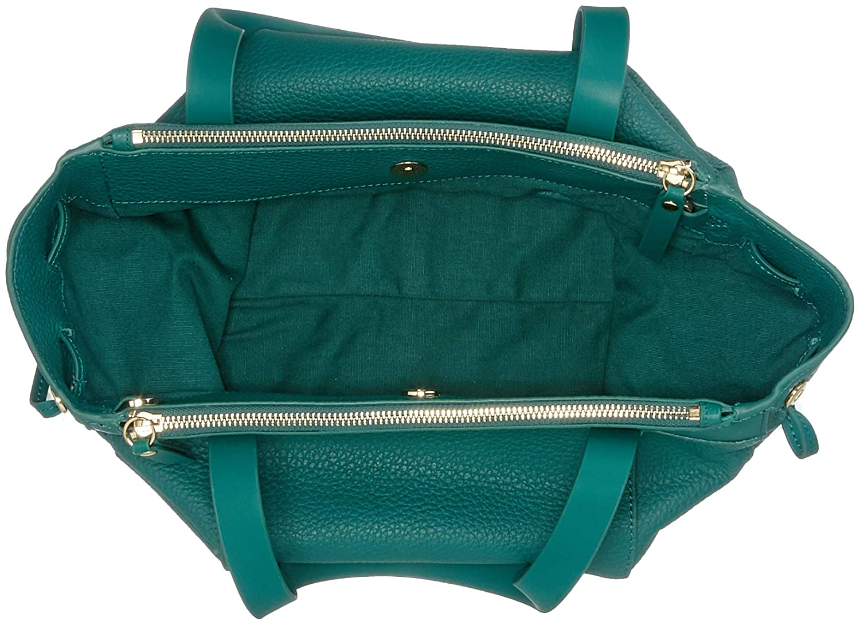 Kärlekskind Berlin dam Shopperm-Pebble handväska, 12 x 25 x 33 cm Grön (alpin grön)