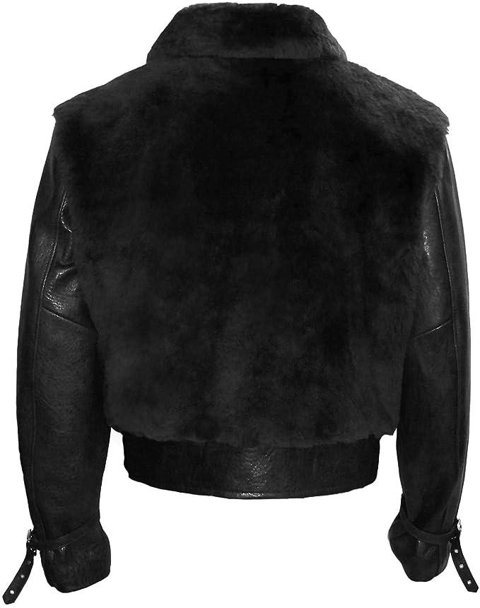 Amazon.com: Grizzly Classic chamarra de piel: Clothing