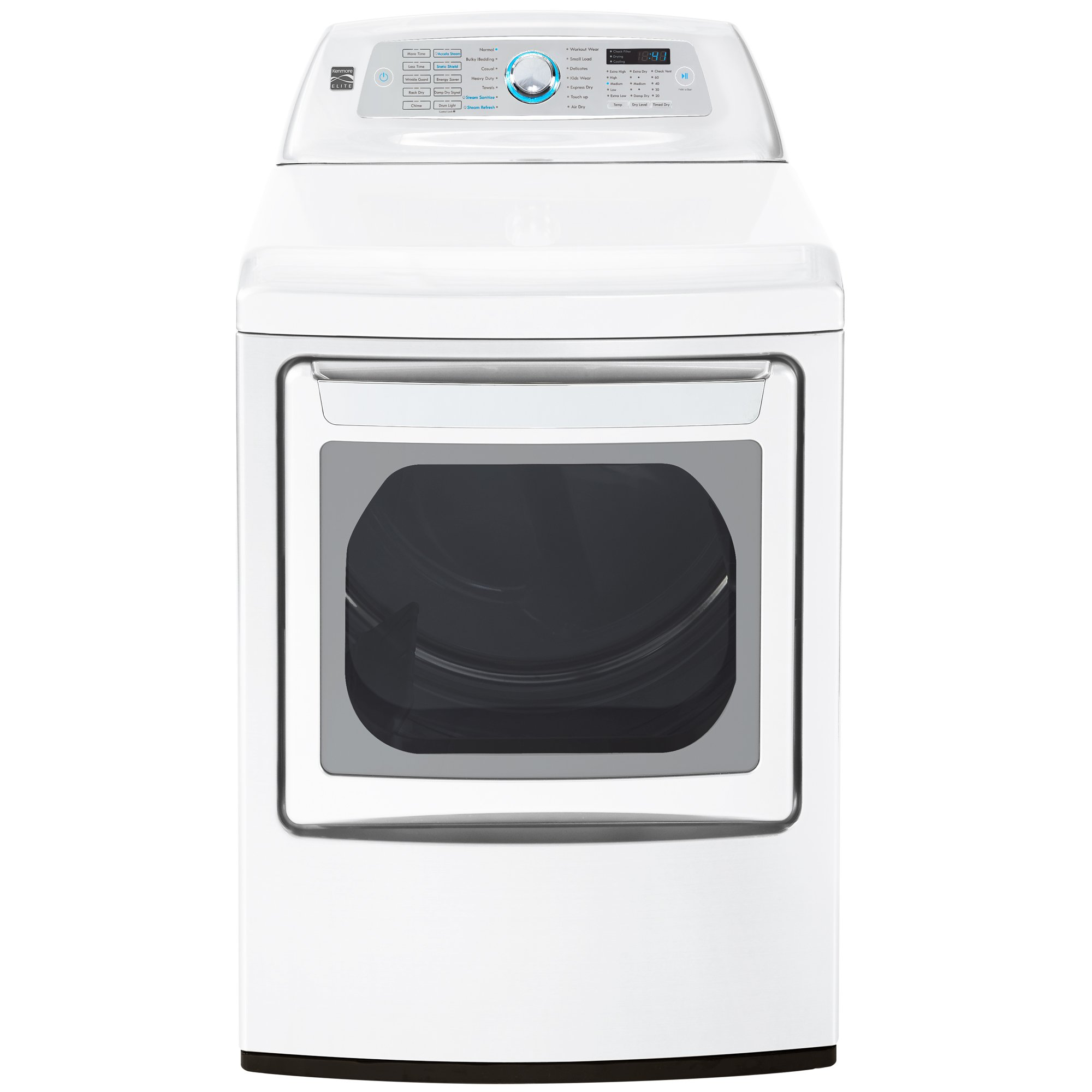 Kenmore Elite 61552 7.3 cu. ft. Electric Dryer in White, includes delivery and hookup