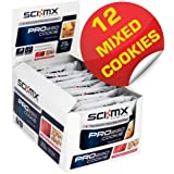 SCI-MX Nutrition Pro 2GO COOKIES MIXED Flavours Pack of 12 - High Protein Nourishment COOKIE better than CNP Pro Bar XS (Mixed) (Mixed)