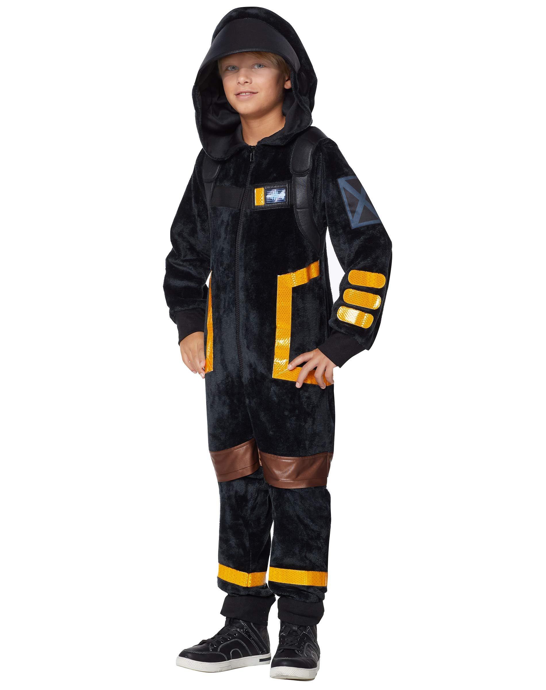 Kids Fortnite Plush Dark Voyager Costume Funtober
