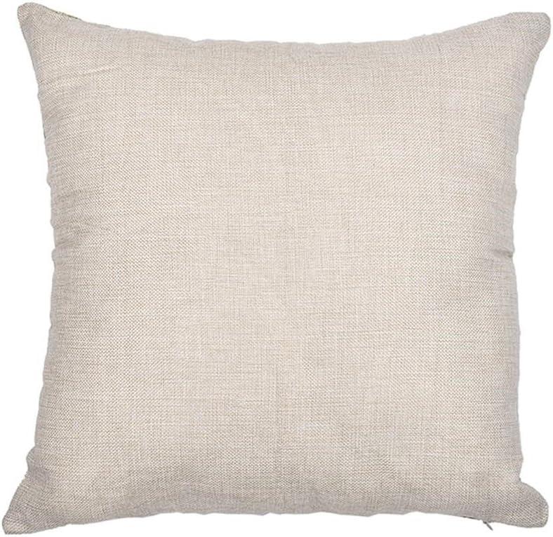 a Kissenbezug Wohnzimmer f/ür Sofa 45 x 45 Centimeters 45/x 45/cm quadratisch als Dekoration Baumwoll-Leinen Excelsio Sonnenblumen-Motiv-Serie Leinen baumwolle von Hand gemalt Schlafzimmer