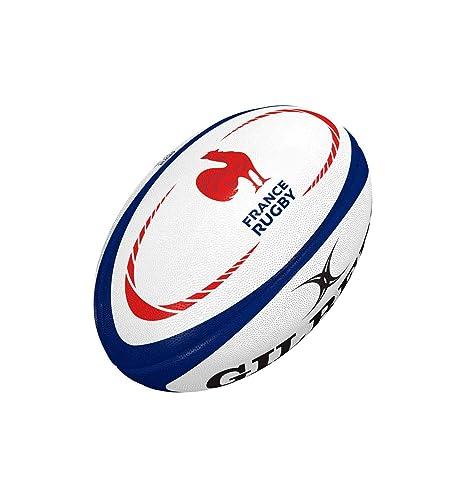 Gilbert - Balón de Rugby (réplica T5), Color Multicolor, tamaño T ...