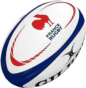 Gilbert - Balón de Rugby de Francia, Color Multicolor, tamaño Mini ...