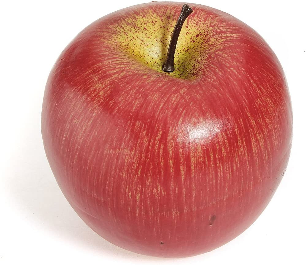 1pcs Decorative Large Artificial Fake Red Apple Plastic Fruits Home Party  Decor: Amazon.co.uk: Garden & Outdoors