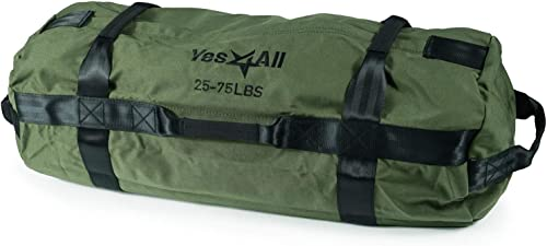 Yes4All Sandbags – Heavy Duty Sandbags for Fitness, Conditioning, Crossfit – Multiple Colors Sizes