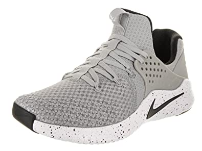 classic fit ee33b 5300c Nike Men s Free TR V8 Training Shoe Matte Silver Black White Size 7.5 M