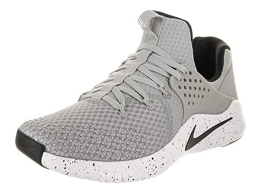 d3eeb5858c6b NIKE Men s Free TR V8 Training Shoe Matte Silver Black White Size 8.5 M