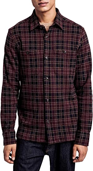GANT Luxury Fashion Hombre 19033004964241 Burdeos Camisa   Otoño-Invierno 19: Amazon.es: Ropa y accesorios