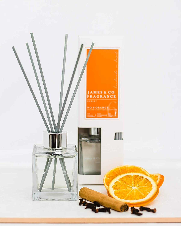 60 heures James /& Co Bougie parfum/ée n/°6 Orange orange et cannelle