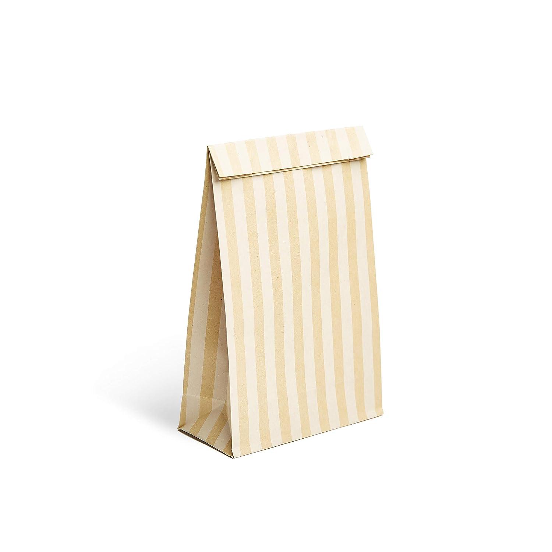 bd8888fbc 24 Bolsas de Regalo de Papel Kraft bellamente Decoradas | Bolsa con  Pegatinas para Regalos Ideales para Bodas o para los cotillones en Fiestas  cumpleaños ...