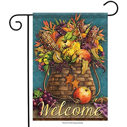 Amazon.com: Starogs Basket Bounty Garden Flag Corn ...