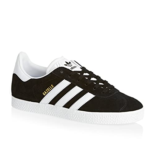 hot sales 4d606 ca1dc adidas Originals Gazelle J Scarpe Moda Sneakers Pelle Scamosciata Nero  Unisex  MainApps  Amazon.it  Scarpe e borse
