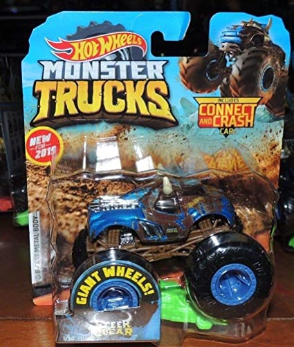 Amazon com: HOT Wheels Monster Truck Steer Clear Includes