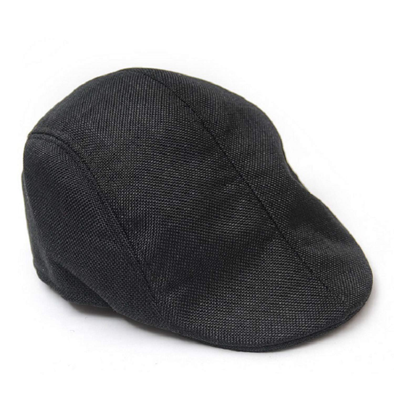 Beret Winter Mens Beret Baker Boy Peaked Newsboy Country Outwears Hat Beret Men Flat Cap for Male W1