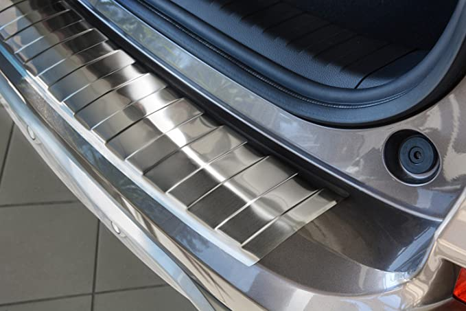 Autostyle 2//35094 Stainless Steel Rear Bumper Protector