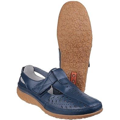 Flotte Et D'accueil Des Femmes / Dames Pinot Chaussures Velcro D'été FYt80T