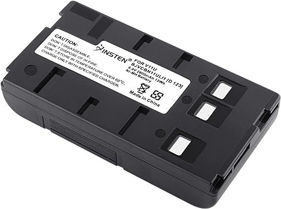 Batmax 1Pc 2400mAh BN-V12U Battery for JVC BN-V11U BN-V20U BN-V20US BN-V14U BN-V12U BN-V18U GR-1U GR-323U GR-AS-X760U GR-AW1 GR-AW1U GR-AX Series