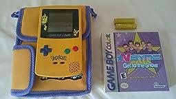la game boy ah oui il y avez quelque chose bloqu ou on place la cartouche impossible de mettre alors jai du avant tout le retirer voir sur la photo - Acheter Game Boy Color Neuve