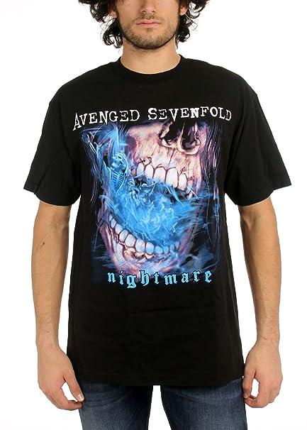 90fddd0db0e Avenged Sevenfold Hombres estaca Nightmare - Camiseta in Black Negro  Medium: Amazon.es: Ropa y accesorios