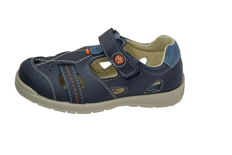 Lavable Para Niño Sandalia Navy Zapatos Piel 840 Titanitos Marco dxoerQCBW