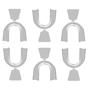 Ultimate Smile Professional Moldable Thermofitting Teeth Whitening Trays- 6 trays