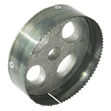 Greenlee 35728 Recessed Light Hole Saw Steel Toothed 5-3/8-  sc 1 st  Amazon.com & Amazon.com: Greenlee 35728 Recessed Light Hole Saw Steel Toothed ... azcodes.com