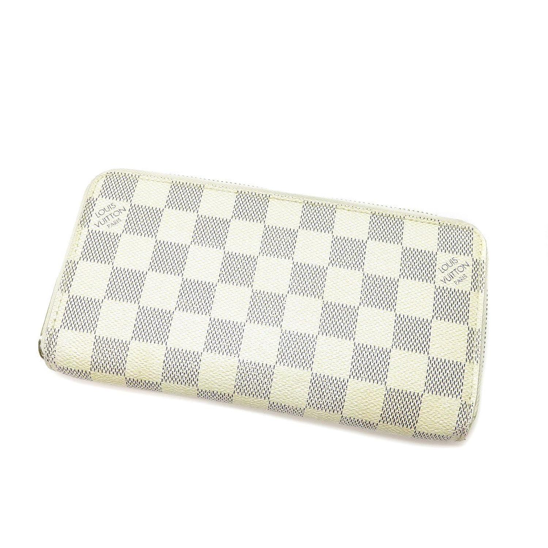 [ルイヴィトン]ジッピーウォレット 長財布(小銭入れあり) ダミエキャンバス レディース (中古) B07DGPZ9S3