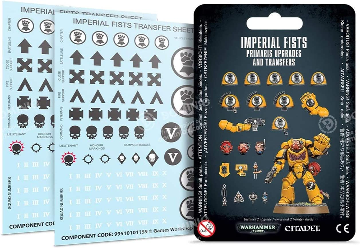 Warhammer 40k Space Marine Upgrade Bits:Imperial Fists Shoulder Targeter