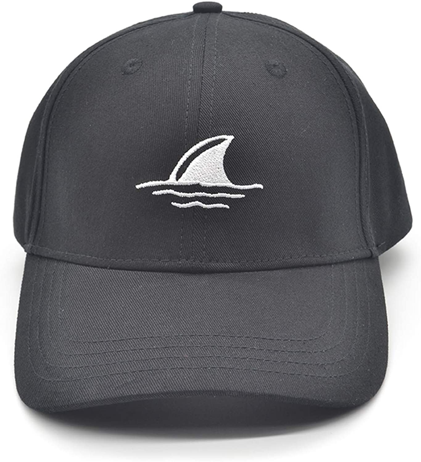 Embroidered Shark Fin Fish Chirstmas Reindeer Snowman USA Baseball Cap Trucker Army Cool Hunting Dad Hat Adjustable