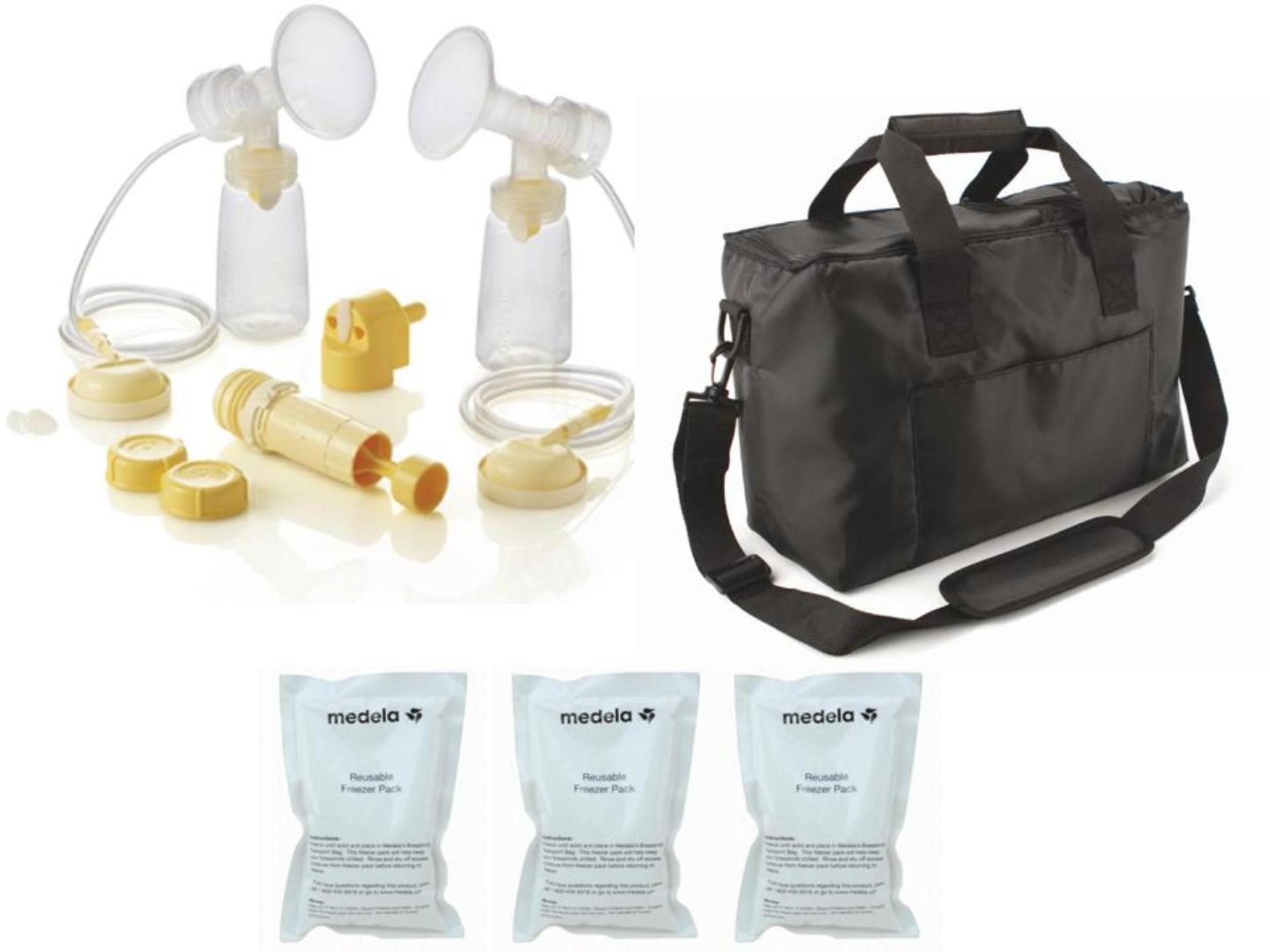 Medela Symphony/ Lactina Parts Kit + Shoulder Bag #67206