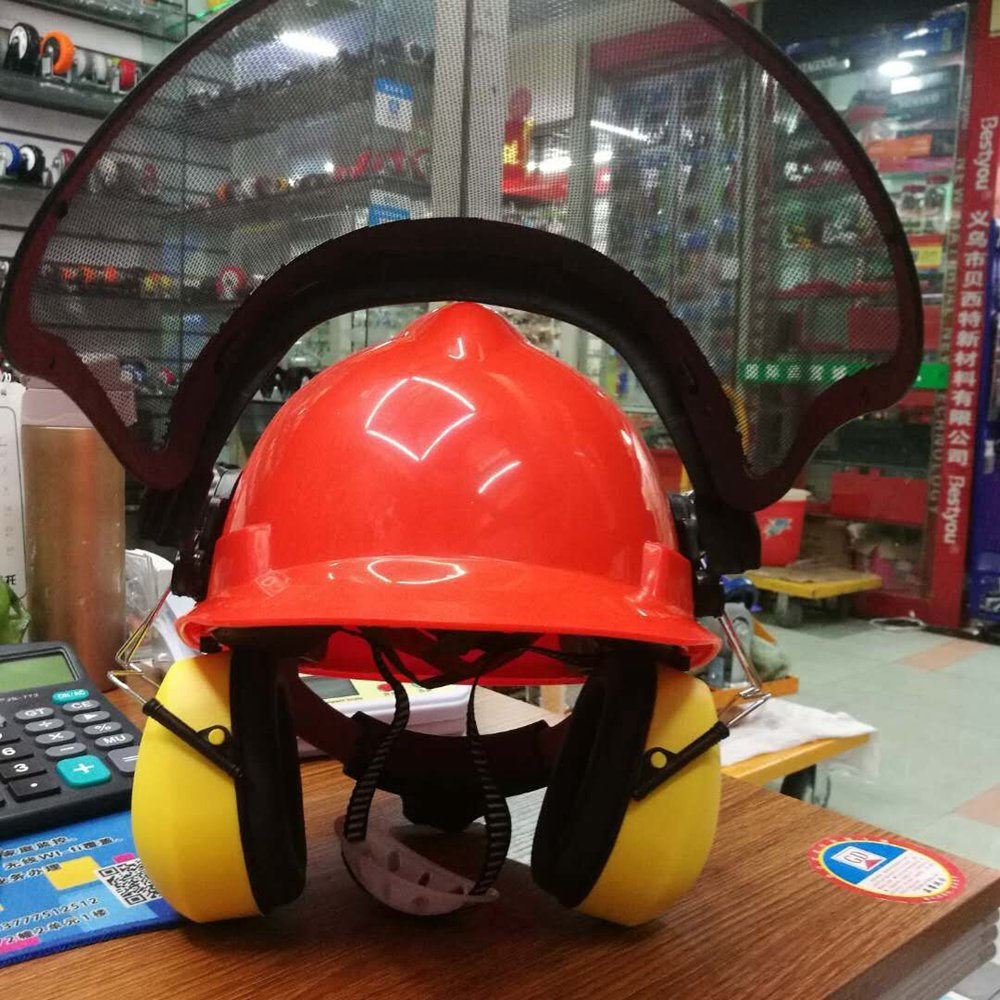 CARMYRA Industrial Forestry Safety Helmet and Hearing Protection System